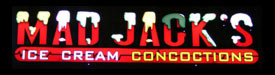 Mad Jacks Ice Cream Concoctions